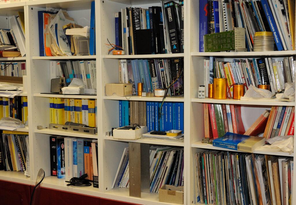 Manuali e cataloghi  dagli anni 50 a oggi